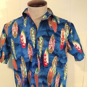Vintage Hilo Hattie Hawaiian Original Men's sz XS
